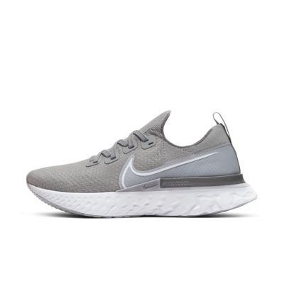 나이키 Nike React Infinity Run Flyknit,Wolf Grey/Cool Grey/Metallic Silver/White