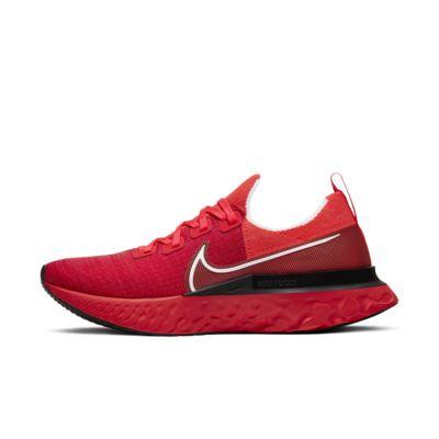 나이키 Nike React Infinity Run Flyknit,Bright Crimson/Black/Infrared/White