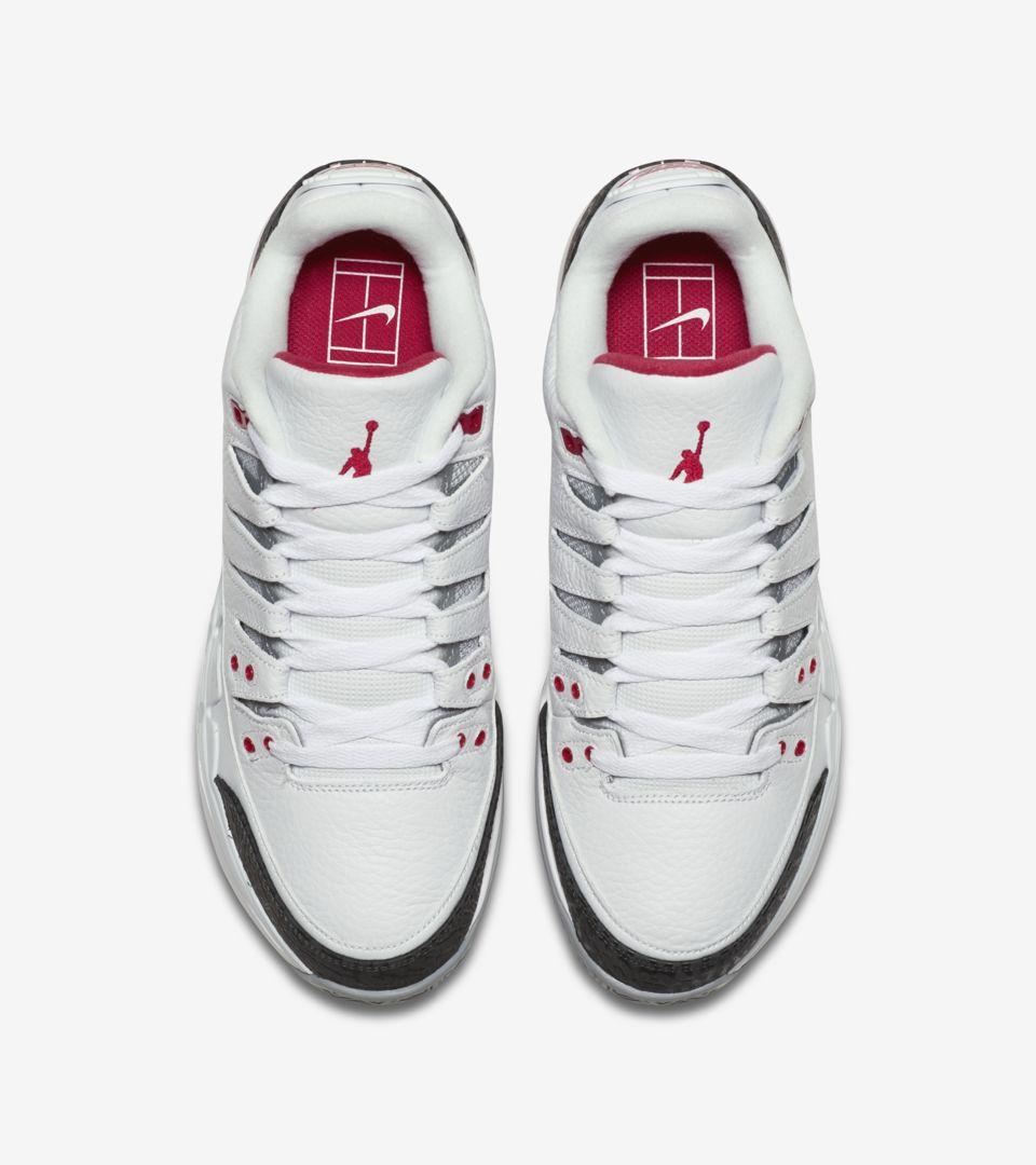 承袭费德勒与jordan品牌始于2014年的合作传统新版鞋款融合张扬