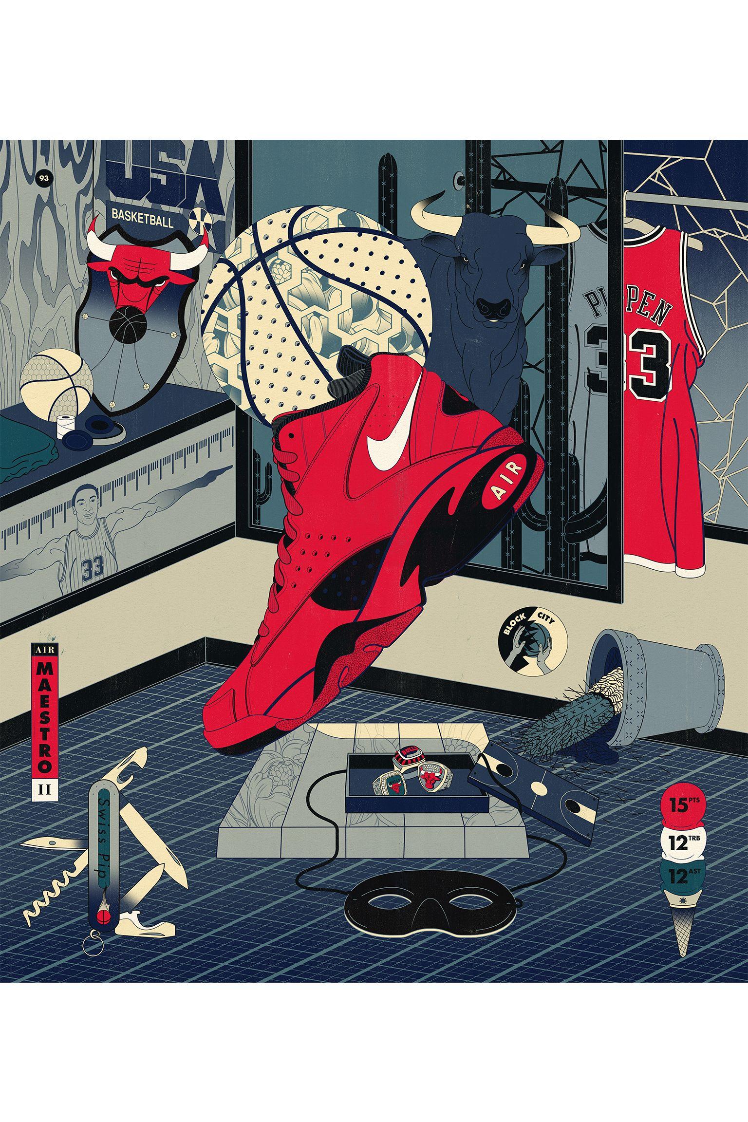 拉塞尔作为传奇球星,和著名篮球运动员查克·泰勒及这款标志性的篮球