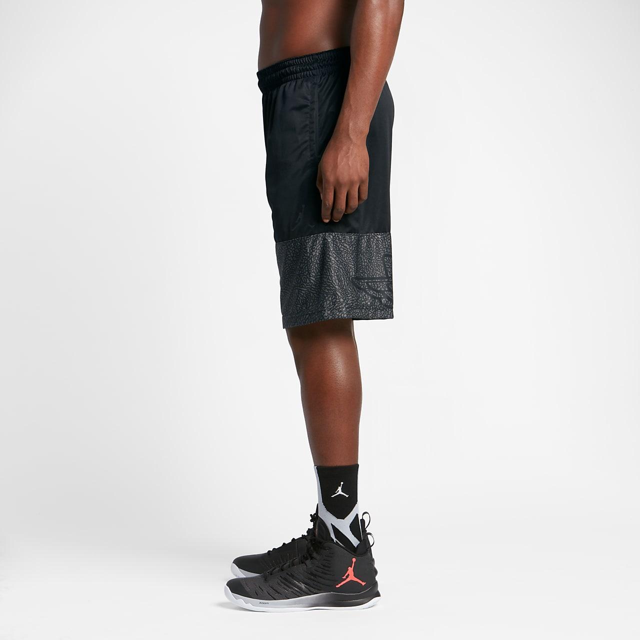 Mens basketball shorts on sale free shipping - Jordan Wings Blockout Men S Basketball Shorts