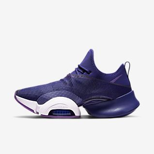 Lila Schuhe. Nike AT