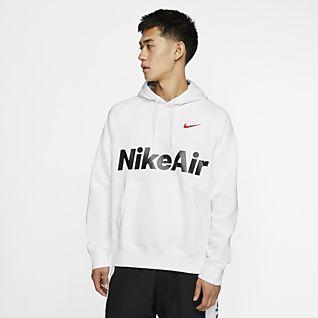 Nike Air W Felpa arancione