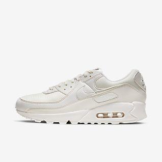 Off White x Nike Air Max 90 Svart Silver AA7293 001 36 46