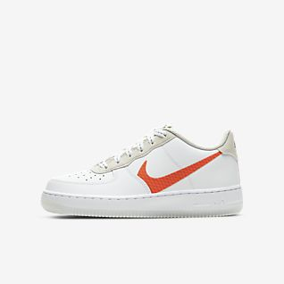 Boys Air Force 1 Low Top Shoes.