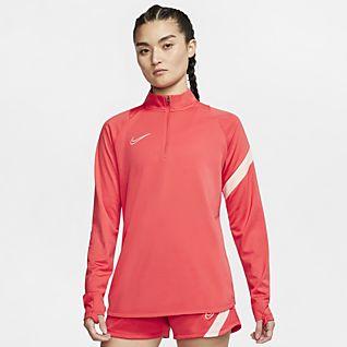 Kvinder Rød Toppe og T shirts. Nike DK