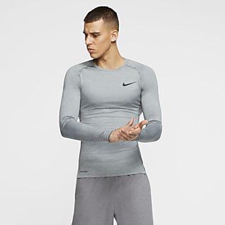 Ropa Nike Racer de Manga Larga{1} Camiseta para Correr para
