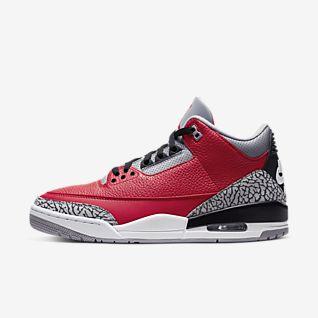 Jordan Red Shoes.