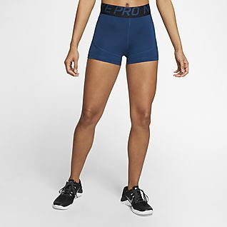 nike pro shorts ladies