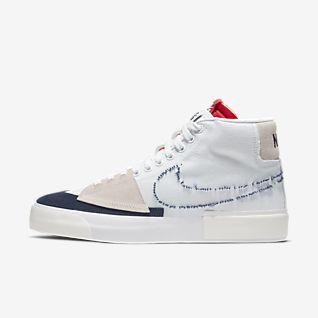 Women's White Blazer Shoes. Nike NO