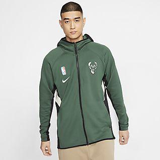 Milwaukee Bucks Full Zip Jacket, Pullover Jacket, Bucks