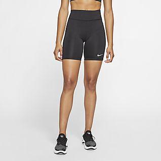 Nike Short Gym Vintage pour Femme Bleu s: : Sports