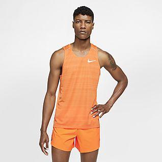 Nike Tailwind Women's Running Tank Mens T Shirt Dri Fit