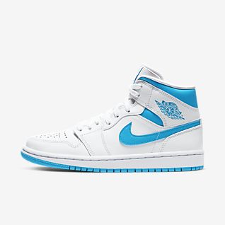 nike Air Jordan 1 Dames Blauw