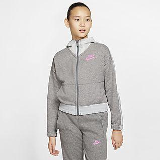 Filles Sweats à capuche et sweat shirts. Nike CA