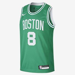 Maglia Kyrie Irving Boston Celtics Nike Icon Edition Swingman NBA Ragazzi