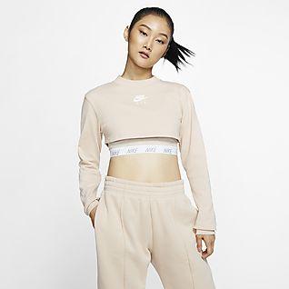 Crop top à manches courtes Nike Sportswear pour Fille plus âgée