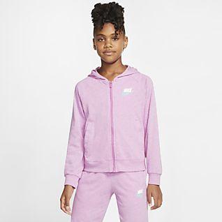 Girls Hoodies, Sweatshirts & Pullovers.
