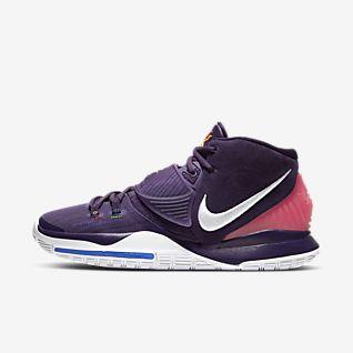 Purple Basketball Shoes. Nike NO