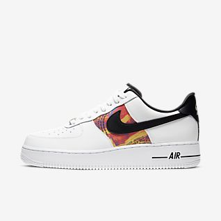 Nike AIR FORCE 1 2019 SS Street Style Plain Leather Sneakers (AT4143 001)