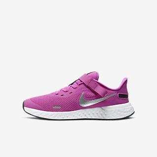 Calzado de running para niños talla grande Nike Revolution 5 FlyEase