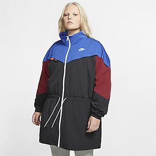 Nike Plus Windrunner Giacca rosa e blu
