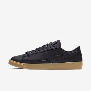 Nike Blazer Low Leahter chaussures noir beige