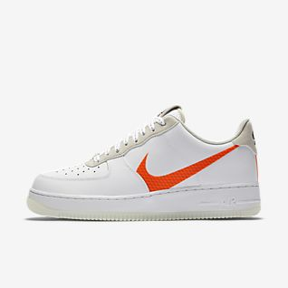 Herren Nike Air Force 1 Mid Trainers In Grün Nike Herren