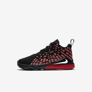New Girls' LeBron James Shoes. Nike MA
