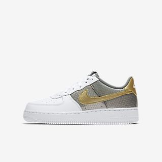 Neue Produkte Mädchen Air Force 1 Schuhe. Nike BE