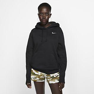 Felpe Nike   Just Do It Fleece Sweatshirt Ladies Grigio