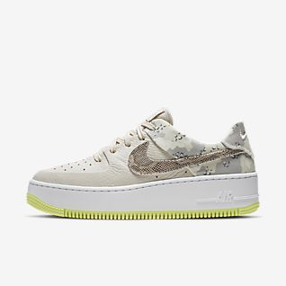 Nike AIR FORCE 1 JESTER Xx W Beige Verde Consegna