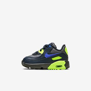 Nike Air Max 90 Womens Running Shoes Silver Purple Green