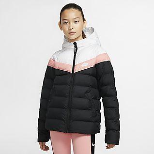 Girls' Jackets & Vests  Nike com