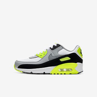 nike air max 90 87 womens shoes green white new