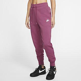 Damen Fleece Hosen & Tights. Nike CH
