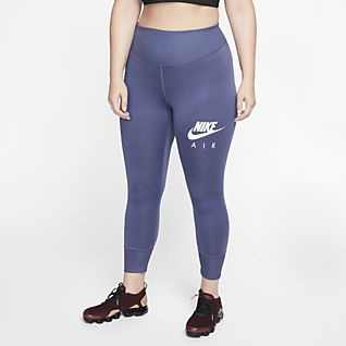 £34 Nike Legend 2.0 Tight Fit capri 3/4 leggings in grey/pink two sizes RRP Dames: kleding