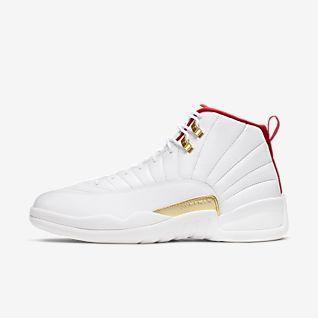 Chaussure de basketball pas cher Homme Retro 19s Noir Blanc Rouge Jaune Jaune Jeunesse Tennis Baskets J18 avec boite