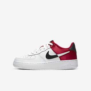 nike shoes for cheap online, Nike air force 1 kids shoes red