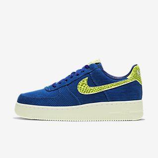 Men's Blue Air Force 1 Shoes.