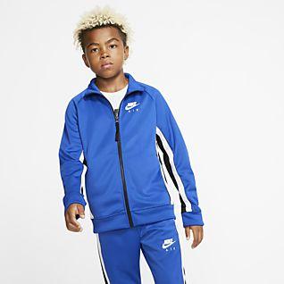Nike Advance Full Zip Colour Block Tracksuit Children | Jd