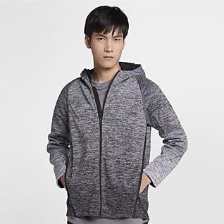 Nike Dri FIT Therma (NFL Patriots) Men's Pullover HoodiPullover Hoodie für Herrene
