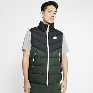 Nike Sportswear Down Fill Puffer Jacke mit Camo Design und Kapuze für Herren