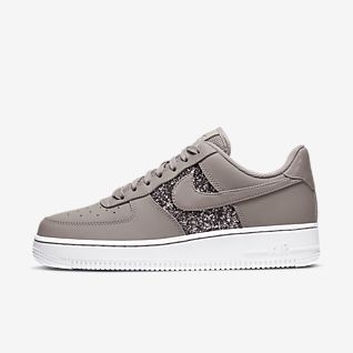 Details about BNIB WOMENS NIKE AIR FORCE 1 '07 LX OLIVE GREEN LEATHER & WHITE TRAINERS UK 6.5