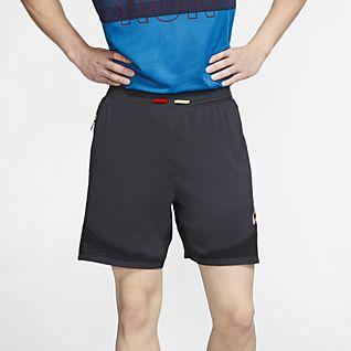 54b14cc914 Men's Black Running Shorts. Nike.com GB