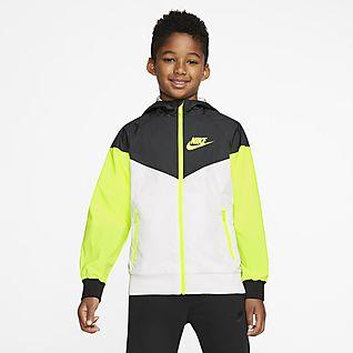 Store barn Barn Fritid Jakker og vester. Nike NO