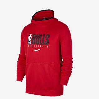 Bluza Nike Chicago Bulls Logo Czerwony
