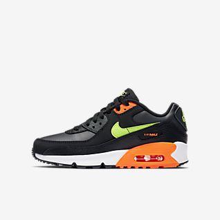 Nike Sportswear Barn AIR MAX 90 Rund Sneakers svart