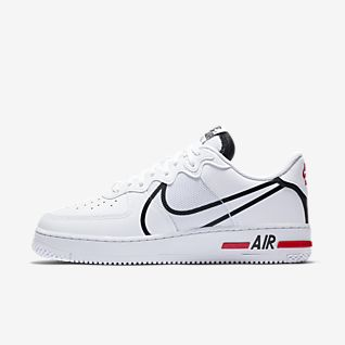 nike air force 1 donna rosse nere