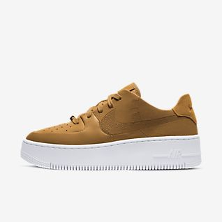 the latest 7468a 7951c Braun Air Force 1 Schuhe. Nike.com BE